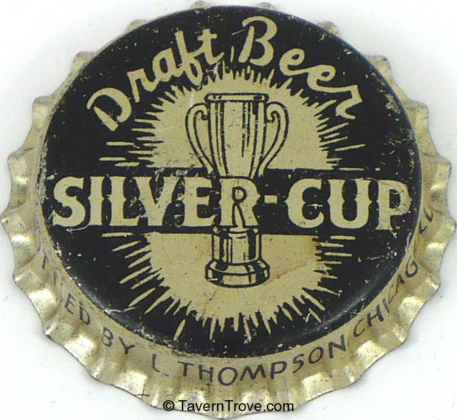 Silver-Cup Draft Beer