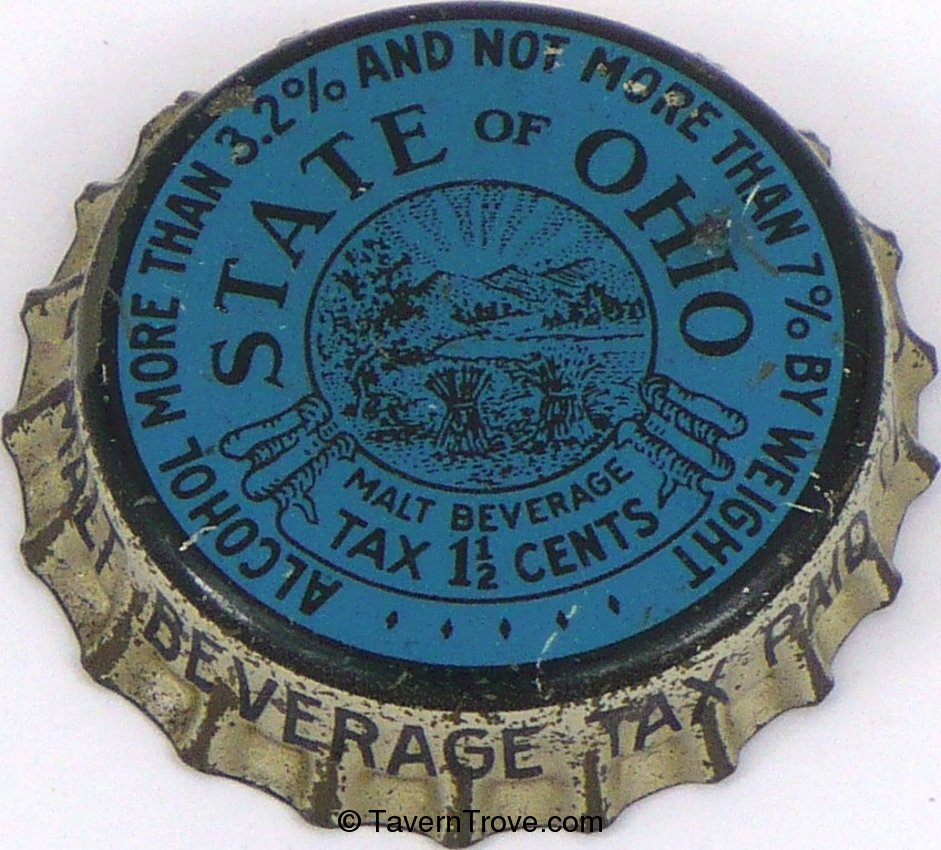 Generic Ohio 1½¢ Tax (blue & black)