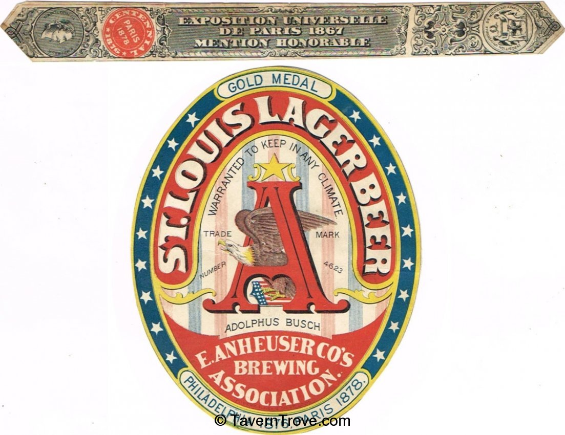 St. Louis Lager Beer