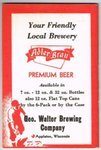 Adler Brau Beer Baseball Schedules
