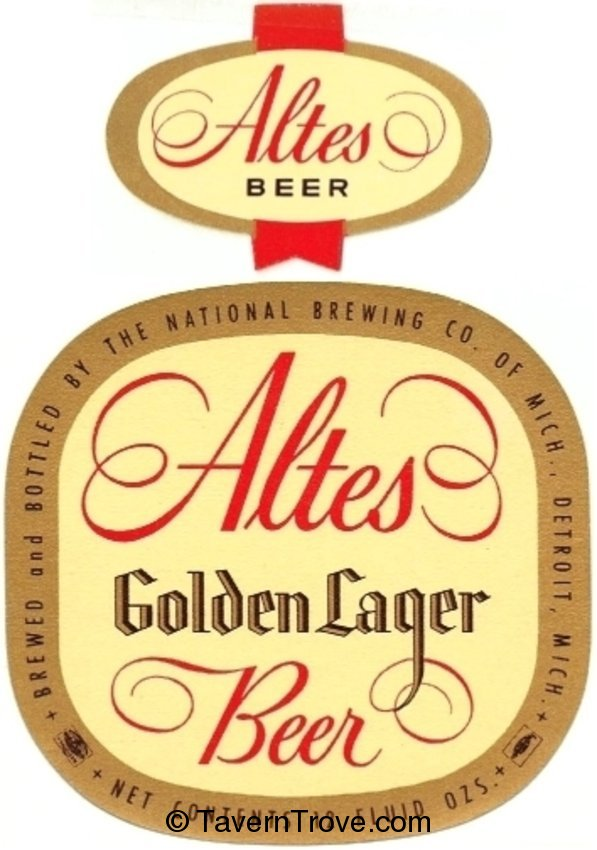 Altes Golden Lager Beer
