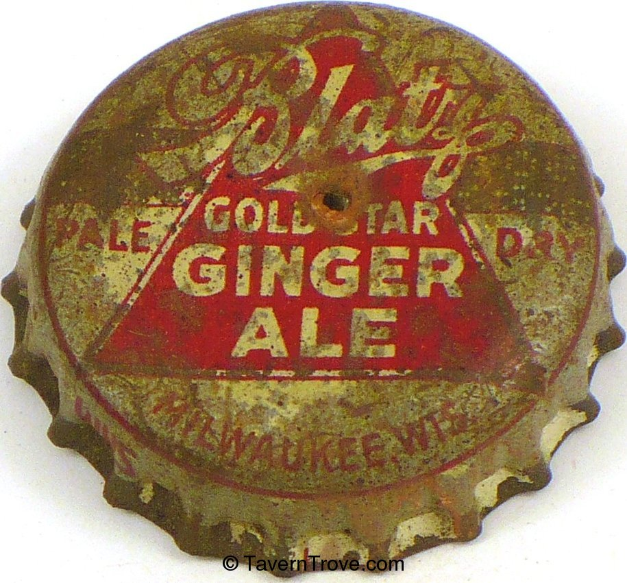 Blatz Gold Star Ginger Ale