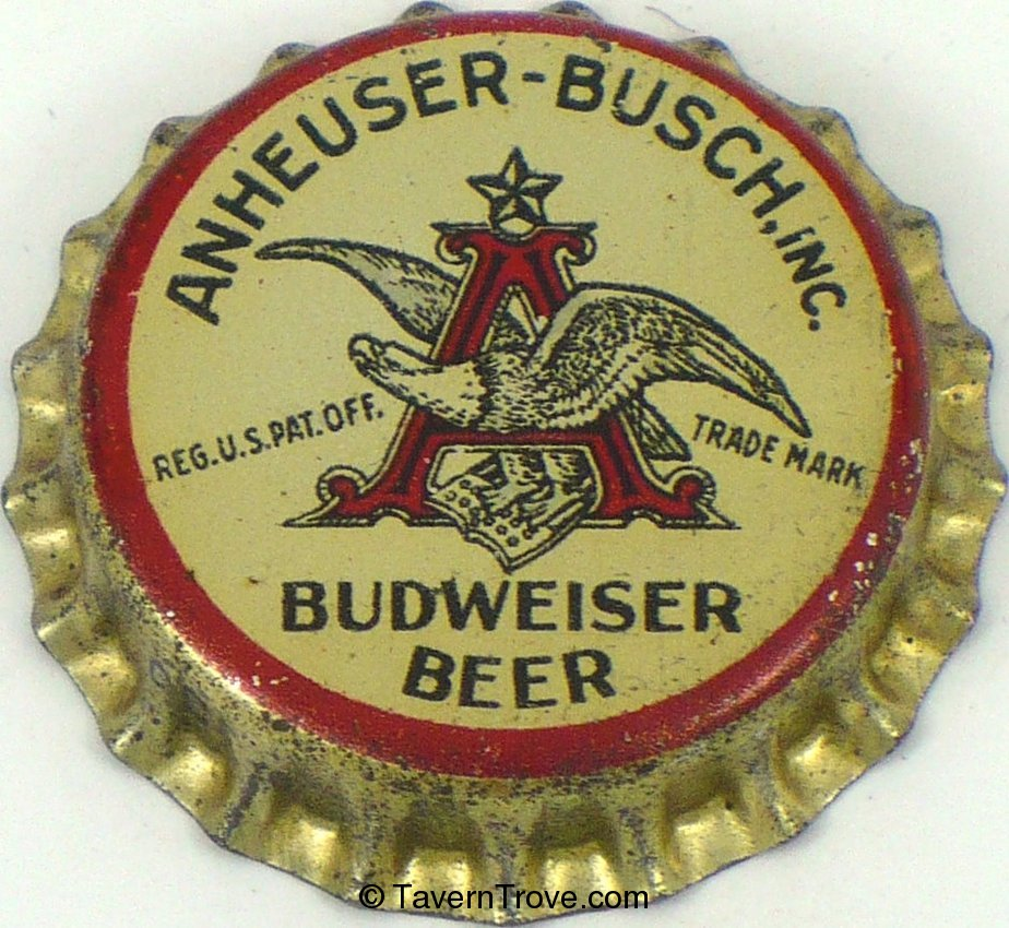 Budweiser Lager Beer (enamel wings & skirt)