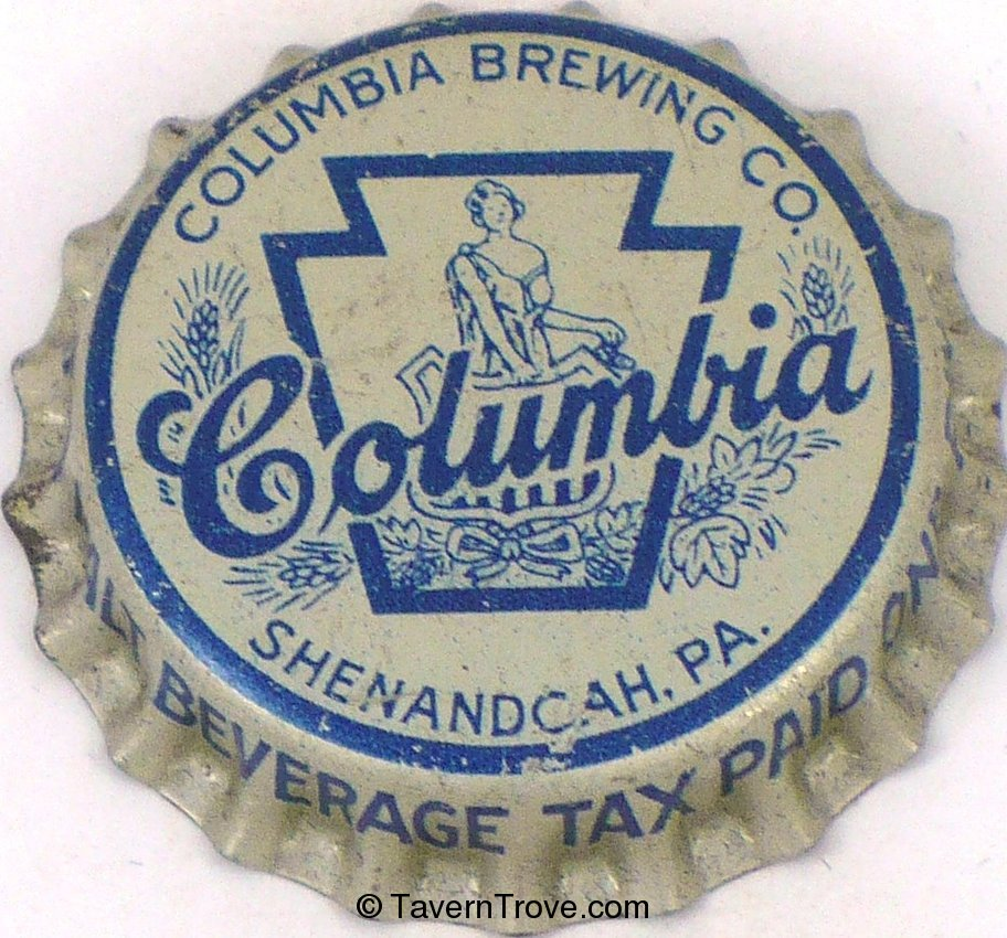 Columbia Beer ~PA pint tax