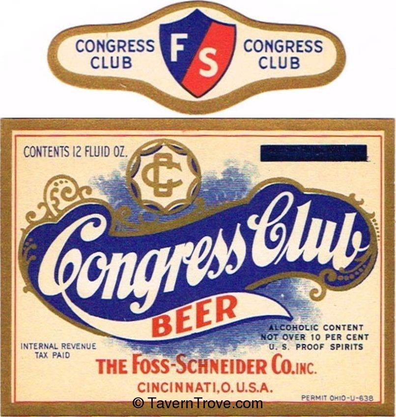 Congress Club Beer