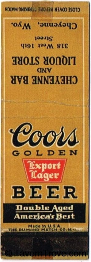 Coors Export Lager Beer
