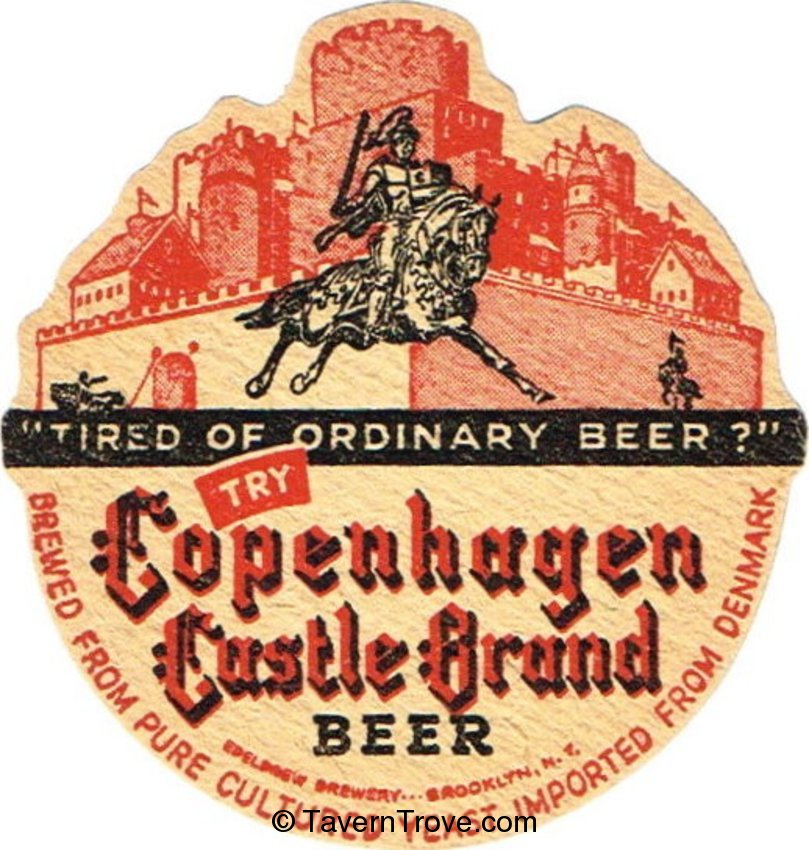 Copenhagen Castle Beer