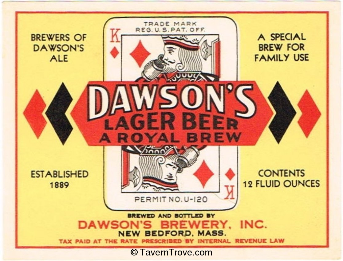 Dawson's Lager Beer