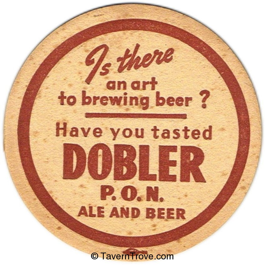 Dobler P.O.N. Ale and Beer