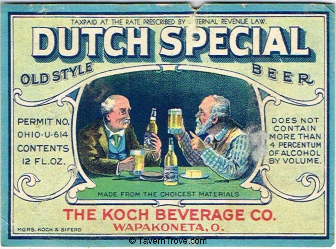 Dutch Special Old Style Beer