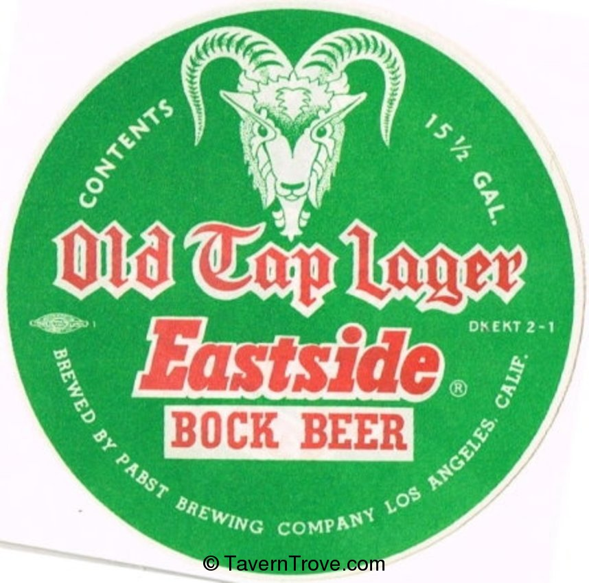 Eastside Old Tap Bock