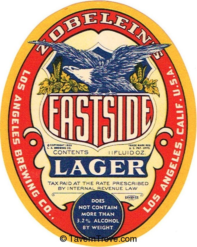 Eastside Lager Beer