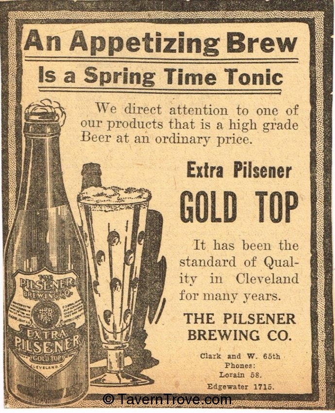 Extra Pilsener Gold Top Beer