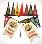 Falstaff Salutes Football Pennant Set