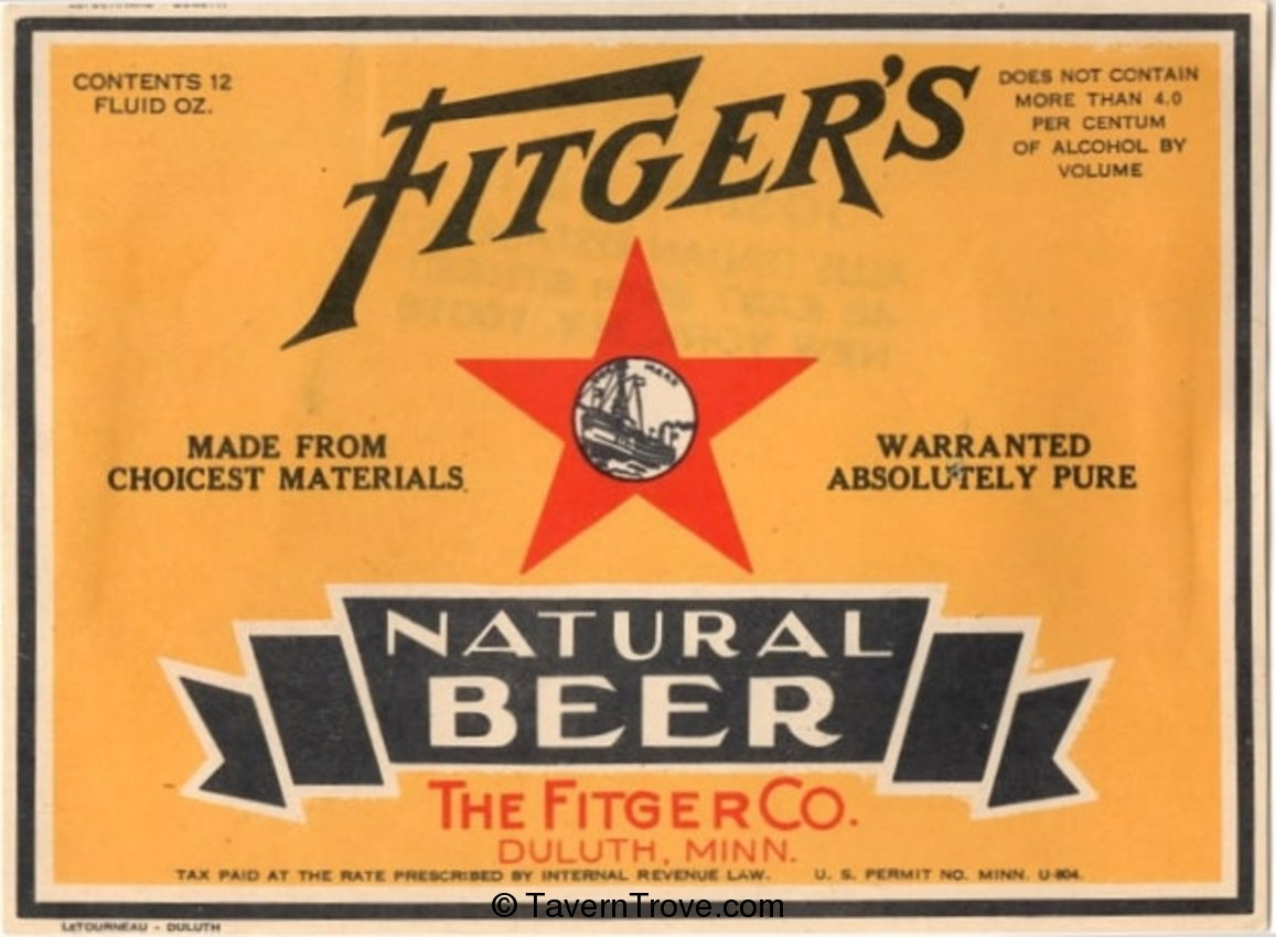 Fitger's Natural Beer