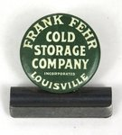 Frank Fehr Cold Storage Co. note clip