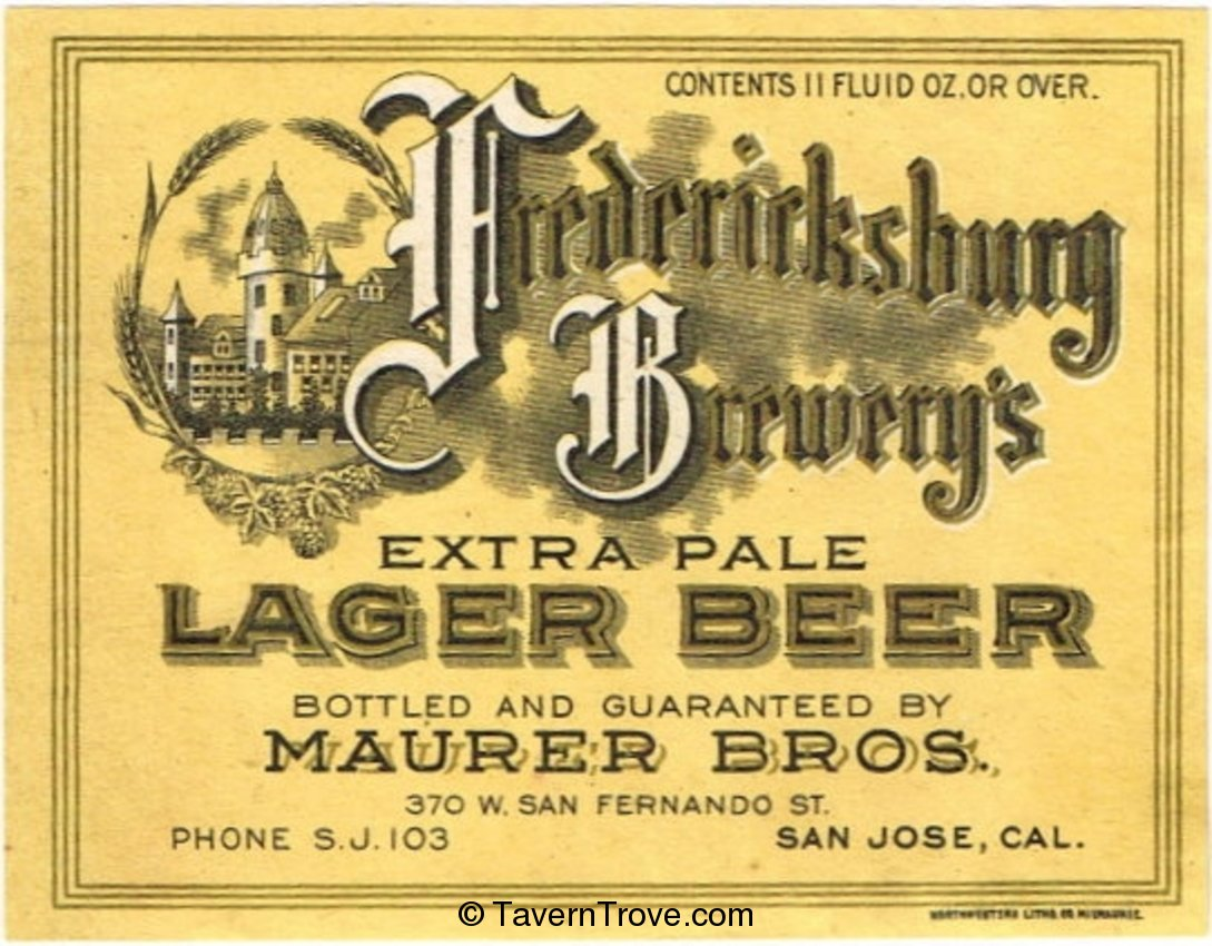 Fredericksburg Brewery's Extra Pale Lager Beer