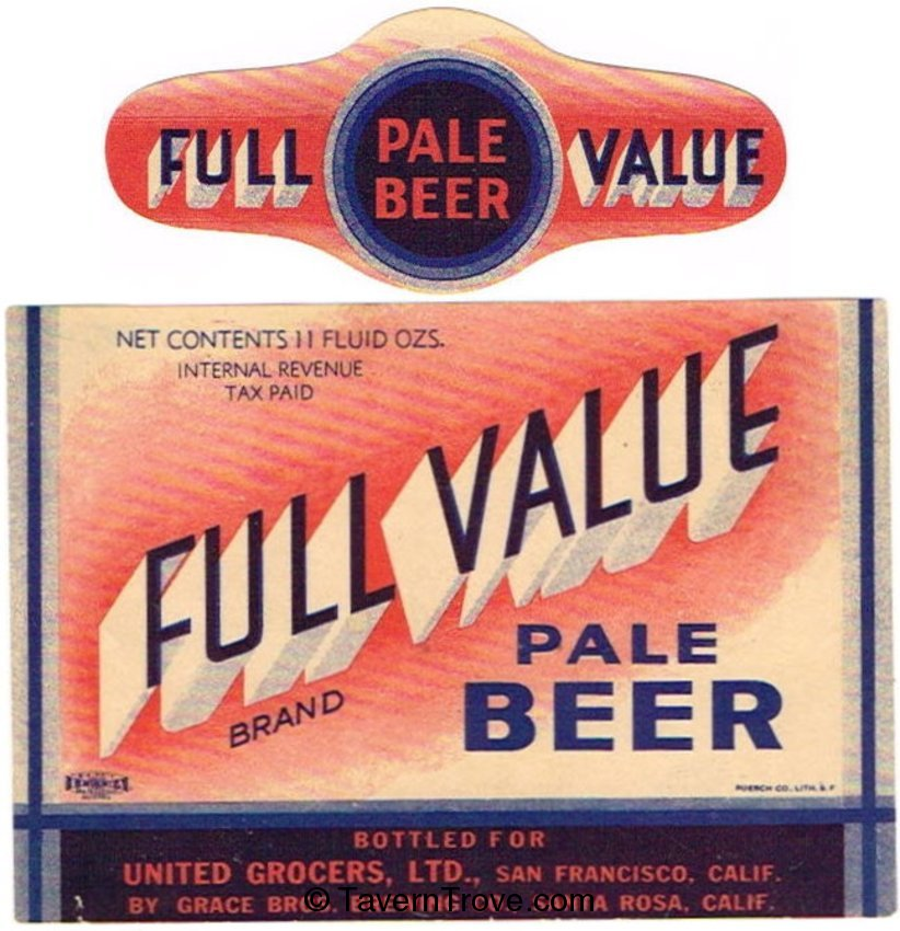Full Value Pale Beer