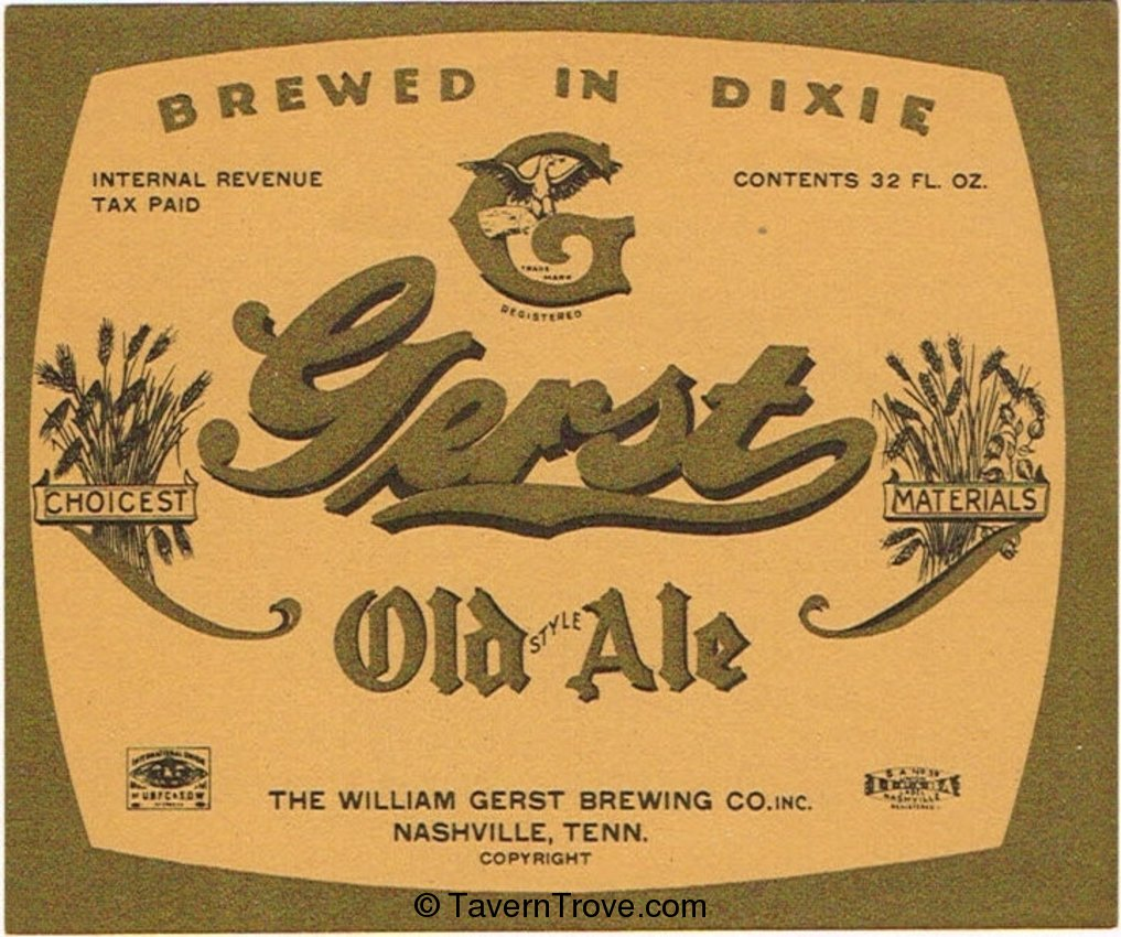 Gerst Old Style Ale