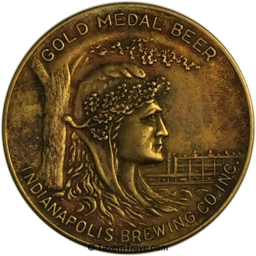 Gold Medal Beer Token