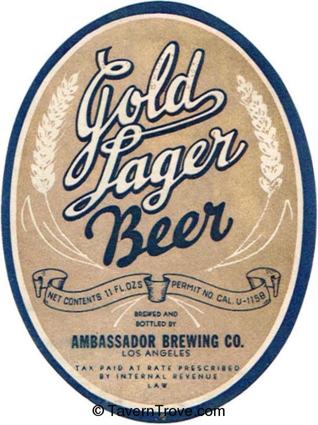 Gold Lager Beer