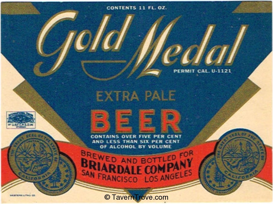 Gold Medal Extra Pale Beer