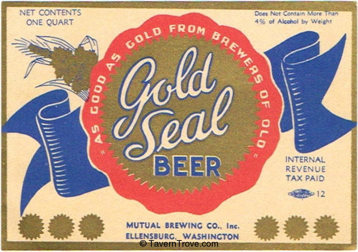 Gold Seal Beer