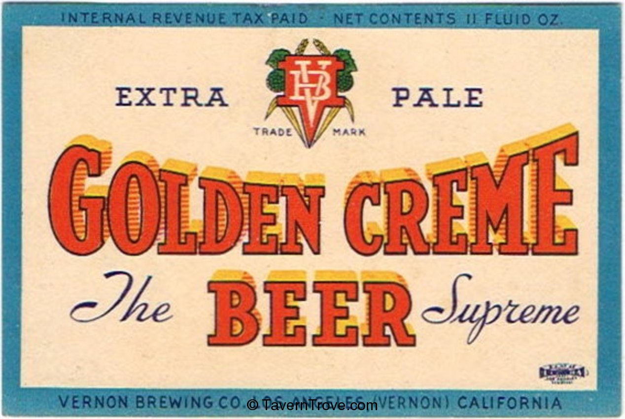 Golden Creme Beer