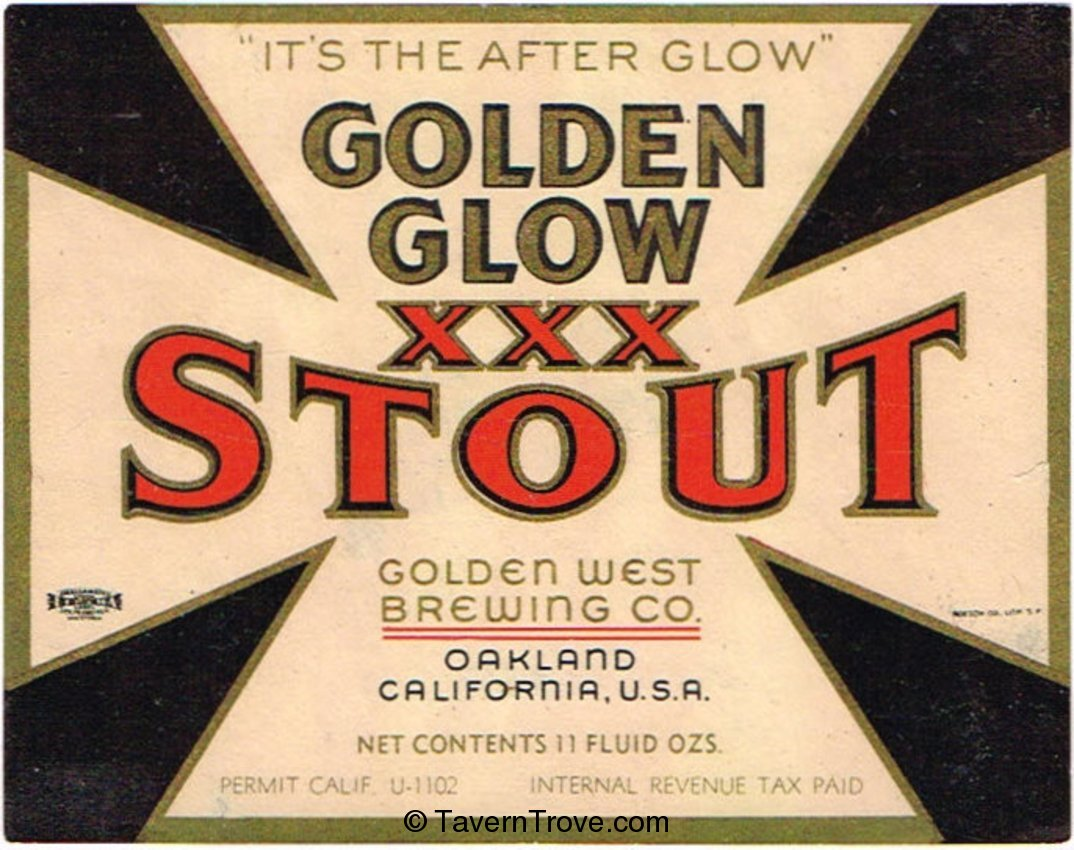 Golden Glow XXX Stout