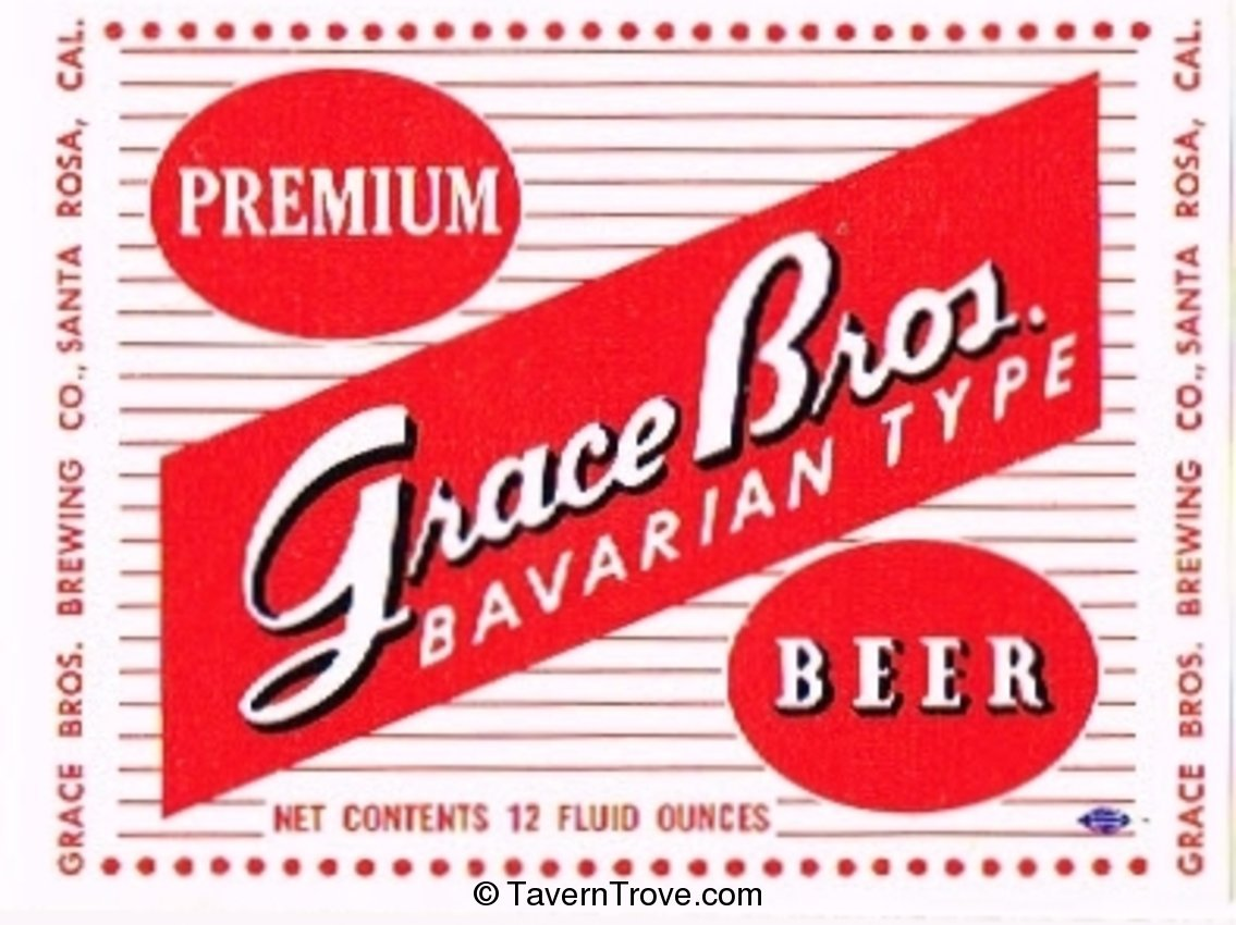 Grace Bros. Bavarian Type Beer