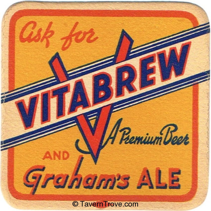 Vitabrew Premium Beer and Graham's Ale
