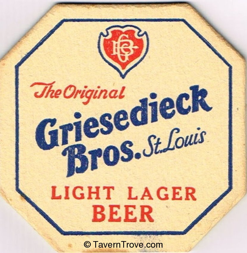 Griesedieck Bros. Light Lager Beer