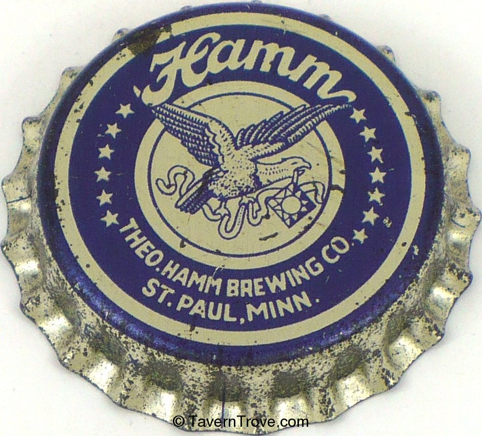 Hamm Brewery (metallic blue & silver)
