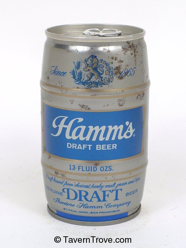 Hamm's Draft Beer