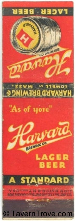Harvard Lager Beer