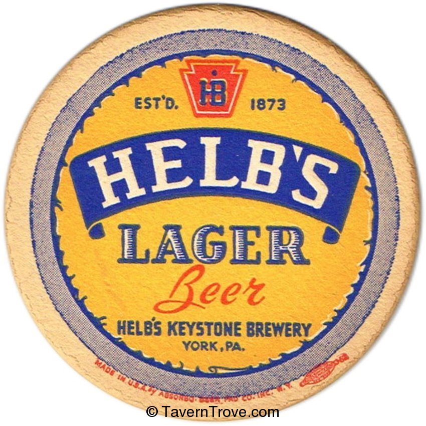 Helb's Lager Beer