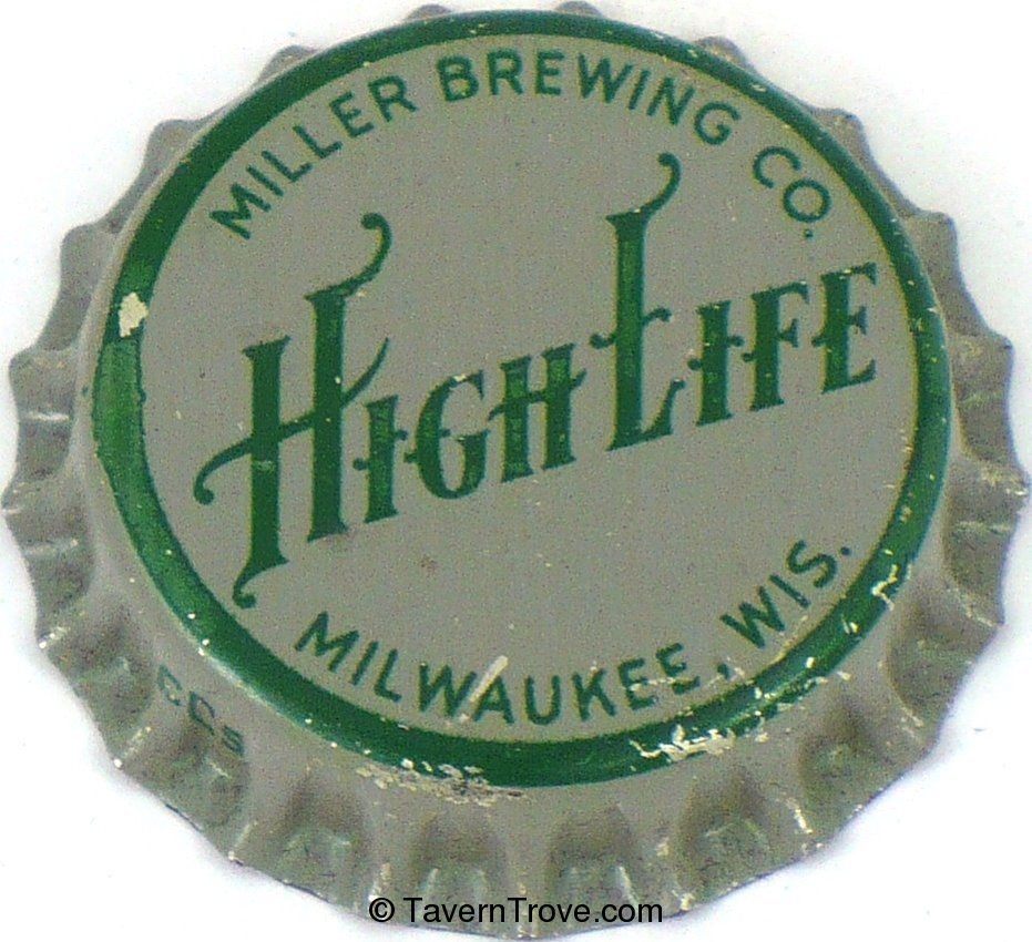 High Life Beer (dull grey)