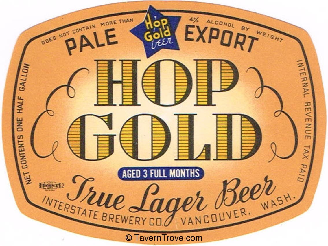 Hop Gold True Lager Beer