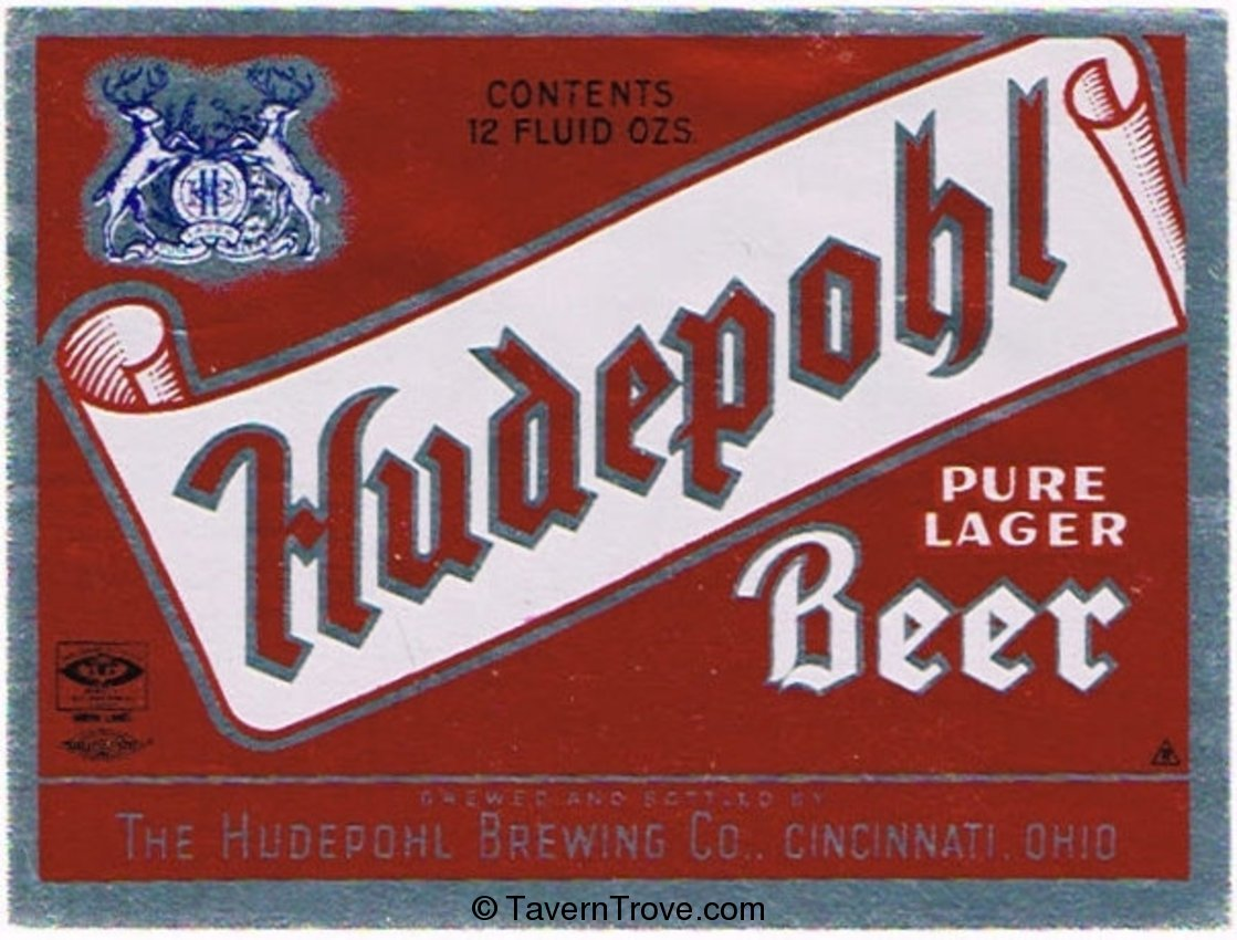 Hudepohl Pure Lager Beer