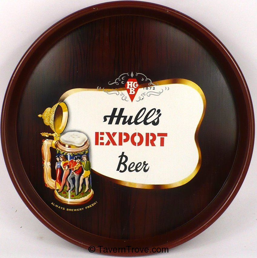 Hull's Export Beer