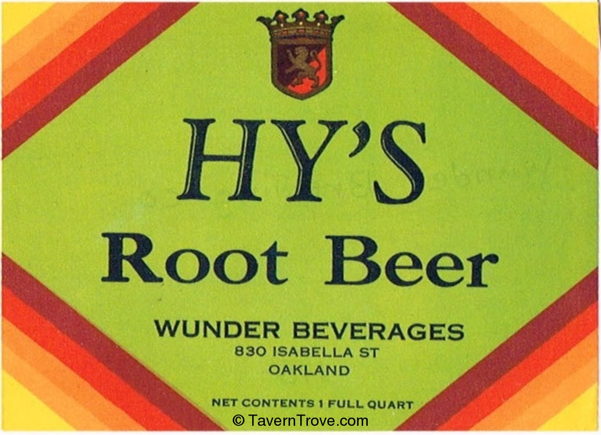 Hy's Root Beer