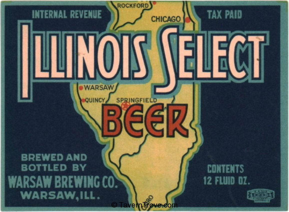 Illinois Select Beer