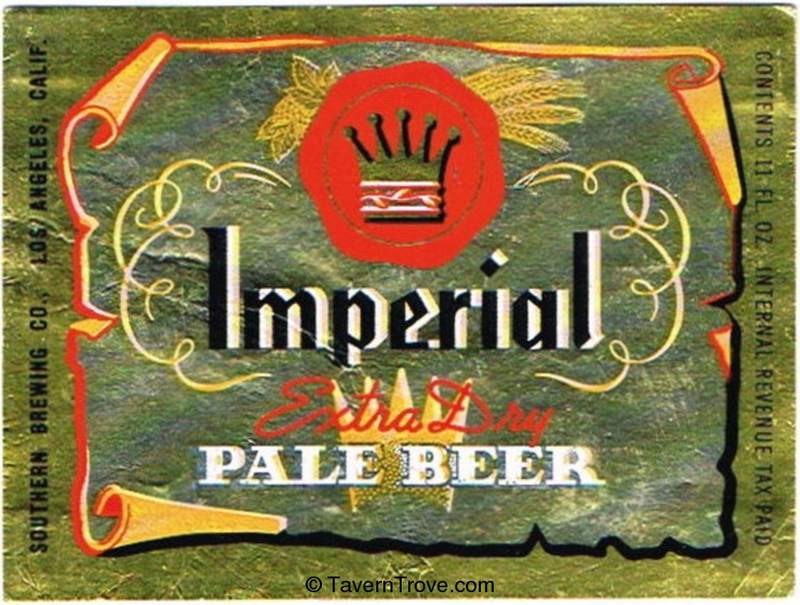 Imperial Extra Dry Pale Beer