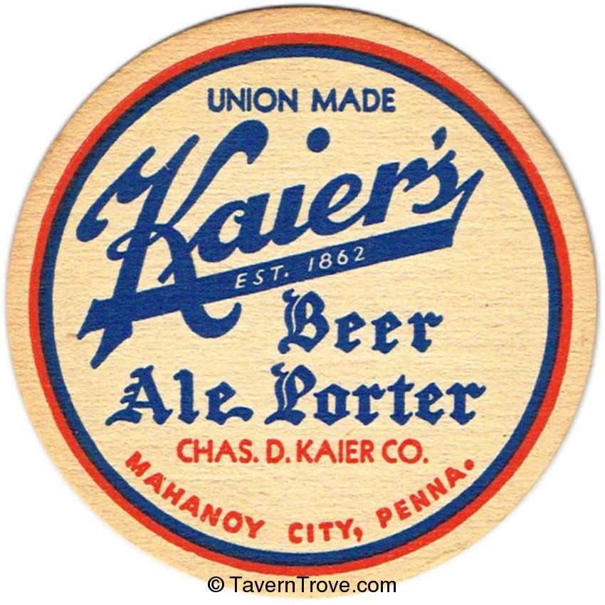 Kaier's Beer-Ale-Porter