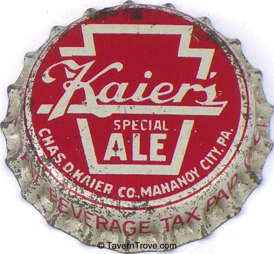 Kaier's Special Ale ~PA Tax