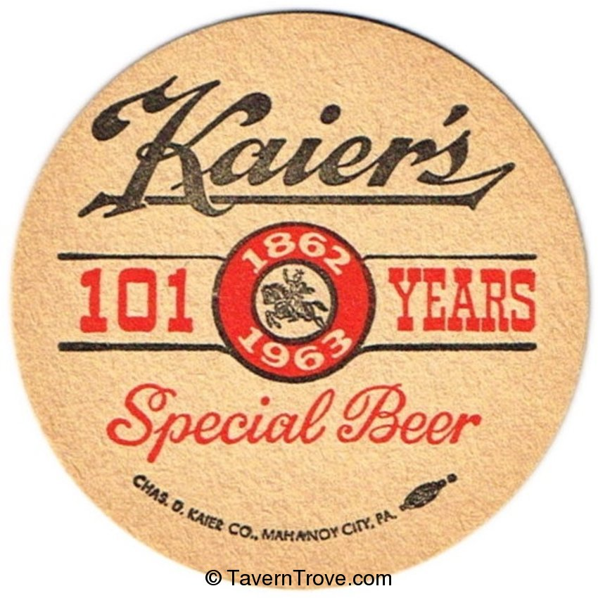 Kaier's Special Beer