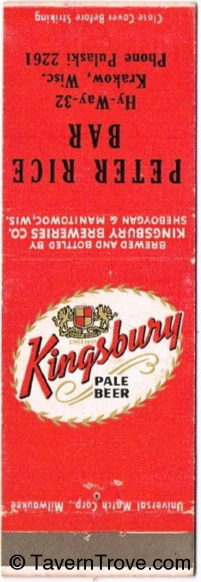 Kingsbury Pale Beer