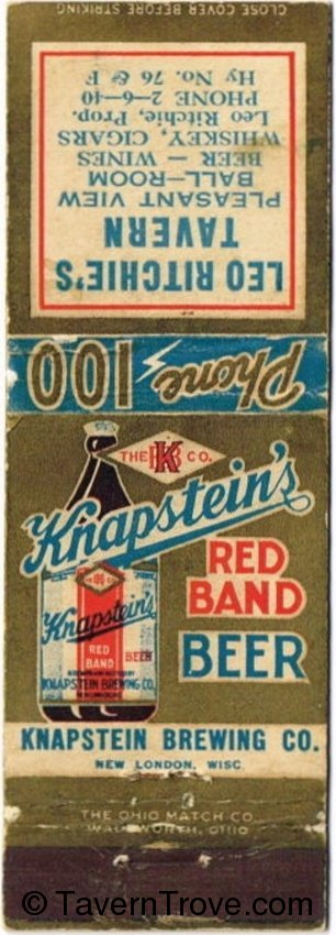 Knapstein's Red Band Beer