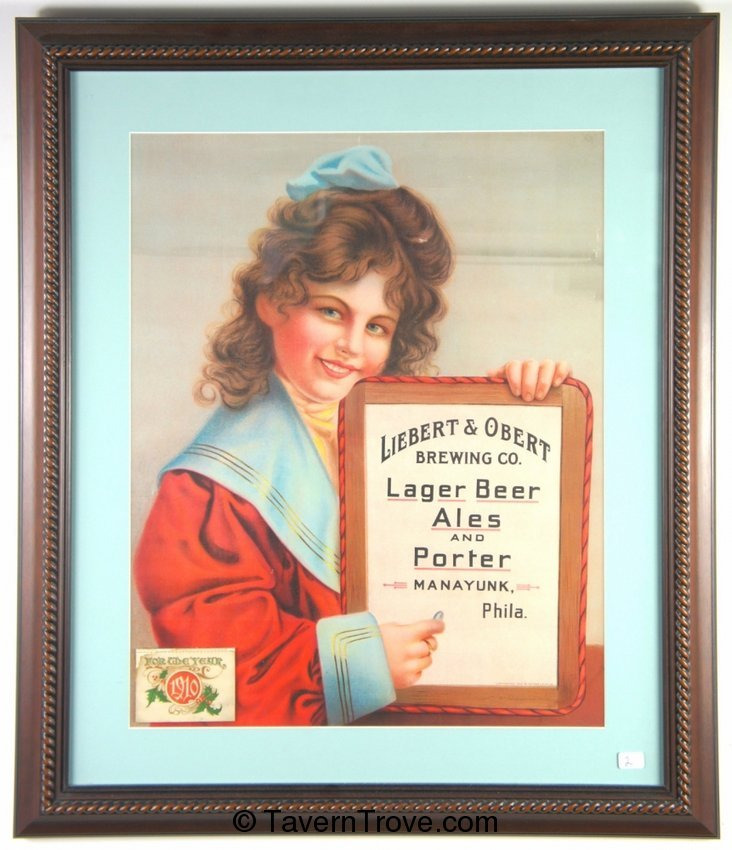Liebert & Obert Brewing Co. 1910 Calendar