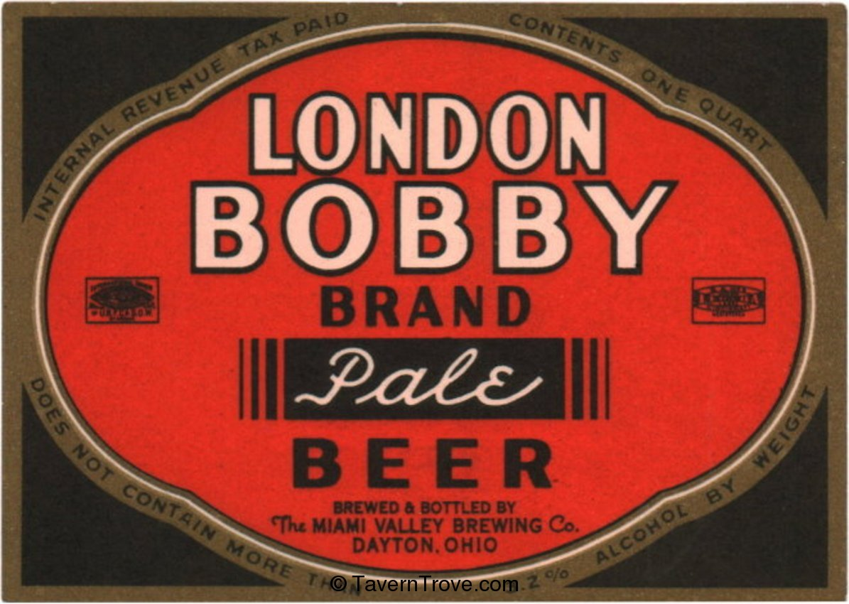 London Bobby Pale Beer